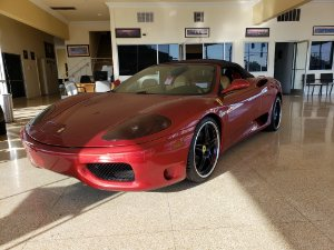 2003 Ferrari 360 Spider Photo