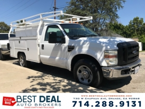 2008 Ford F-350 Utility Truck Extra Cab Photo
