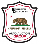 Southern California Auto Auction logo